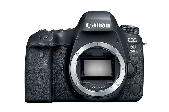 Canon EOS 6D Mark II (Body Only) Black by Canon