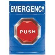 SAFETY TECHNOLOGY INTERNATIONAL SS-2402E Emergency Push Button, Key-To-Reset