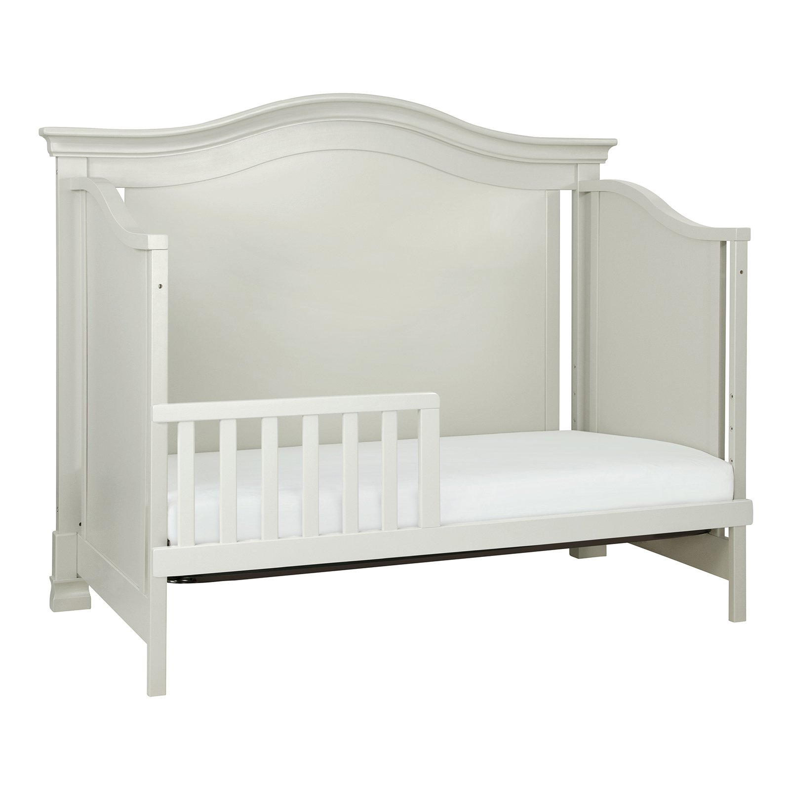 million dollar baby classic louis 4 in 1 convertible crib - White Baby Crib