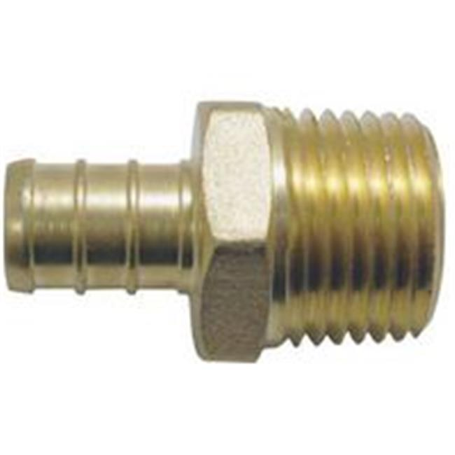 Conbraco Adapter Pex 1/2In Brass Male APXMA1212