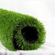 LITA Artificial Grass 7' x 13' (91 Square FT) Realistic Fake Grass Deluxe Turf Synthetic Turf Thick Lawn Pet Turf