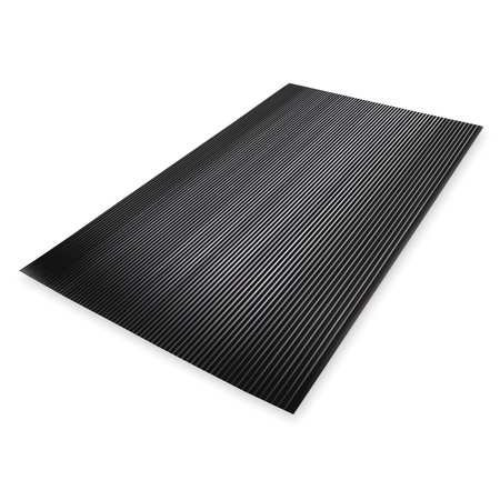 NOTRAX 830S0035BL Switchboard Mat, Black, Corrugated, 3x5 - Switchboard Mat