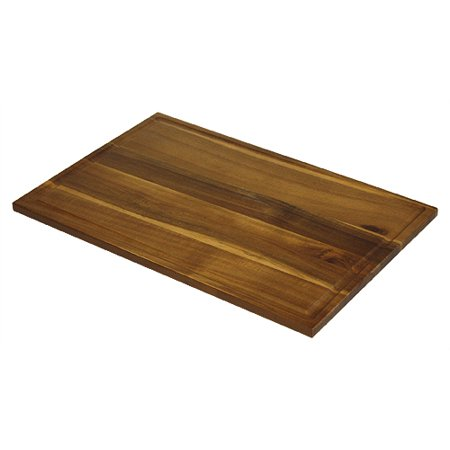 Extra Large Organic Edge-Grain Hardwood Acacia Cutting Board, with Juice groove, Best Kitchen chopping Board (Butcher Block) for Meat, Cheese, and Vegetable Serving Tray 17