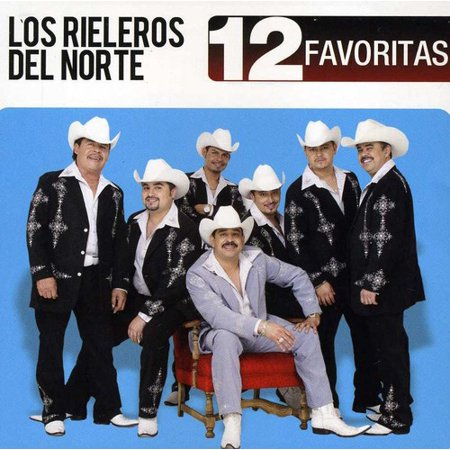 Los Rieleros Del Norte - 12 Favoritas (CD)