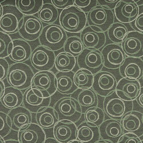 Wildon Home  Geometric Circular Fabric