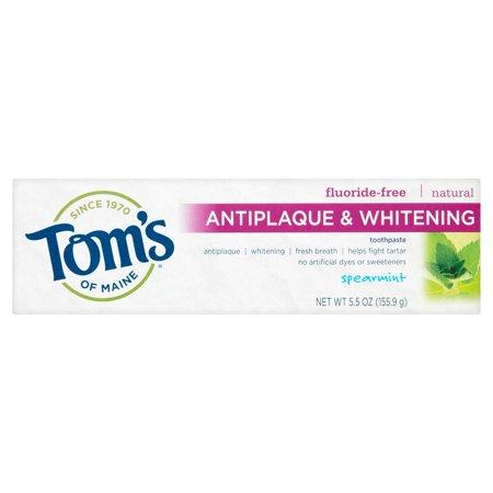 Toms Of Maine Antiplaque   Whitening Spearmint Toothpaste  5 5 Oz