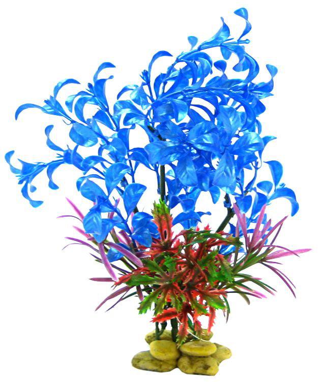 """Aquatic Creations Hygrophilia Aquarium Plant Blue 15"""" High by Aquatic Creations"""