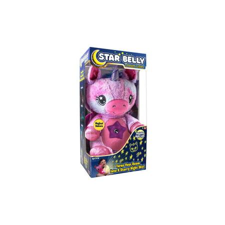 Star Belly Pink & Purple Unicorn As Seen On TV