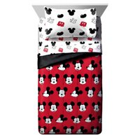 Overwatch Disney Mickey Mouse Cute Faces Single Reversible Comforter