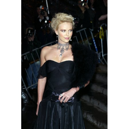 Actress Charlize Theron Arrives At The Costume Institute Party Of The Year At The Met April 26 2004 In New York City Celebrity - Party City Woodbridge