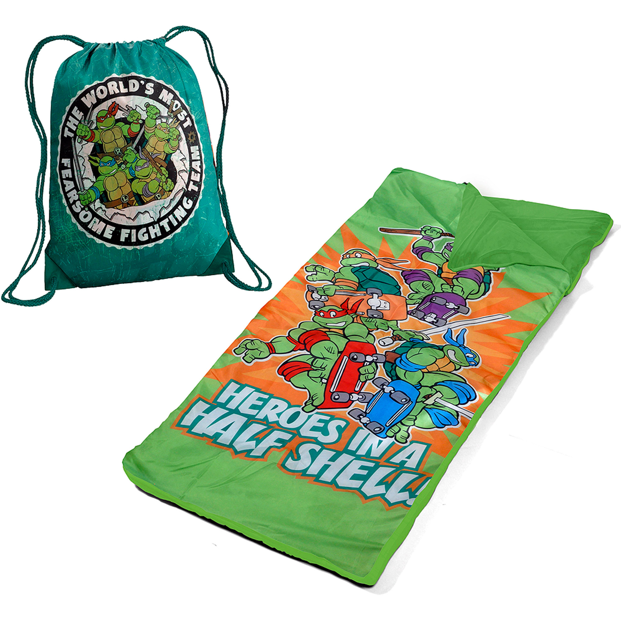 Nickelodeon Teenage Mutant Ninja Turtles Toddler Slumber Duffle Nap Mat