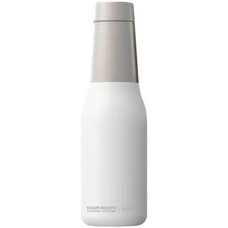 Asobu SBV23W 20-ounce Oasis Water Bottle (white)