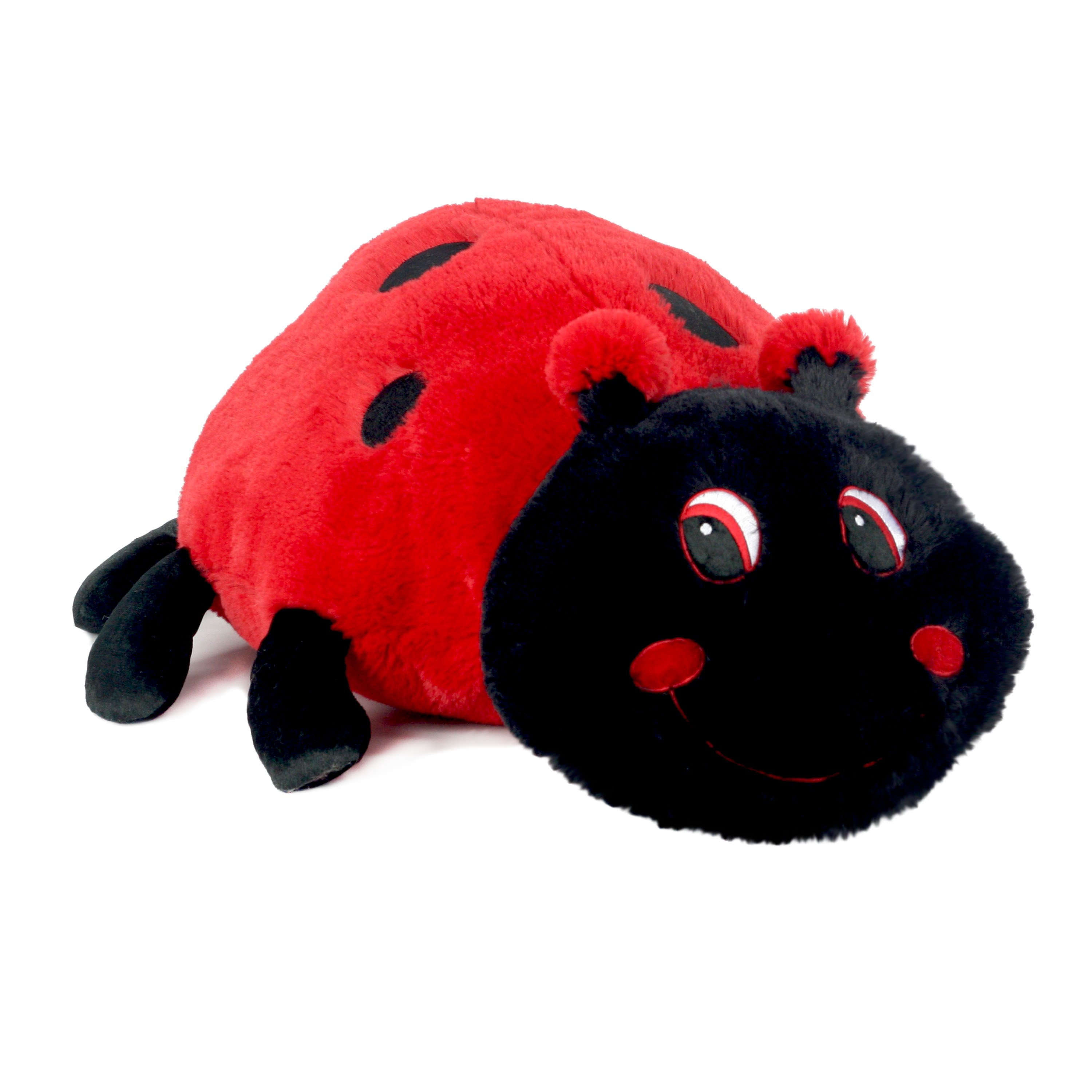Way To Celebrate Floppy Pal Valentines Plush Toy- Ladybug