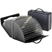 Pendaflex Professional Expanding Carrying Cases, Smoke, 1 Each (Quantity)