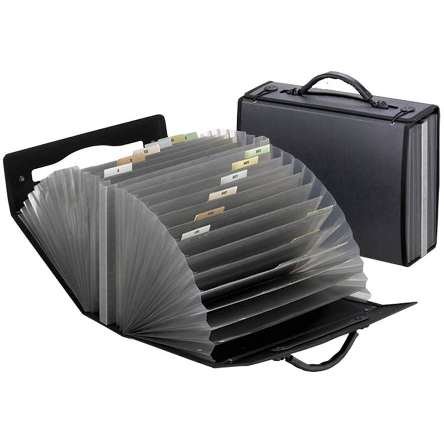 Pendaflex, PFX01132, Professional Expanding Carrying Cases, 1 Each, Smoke