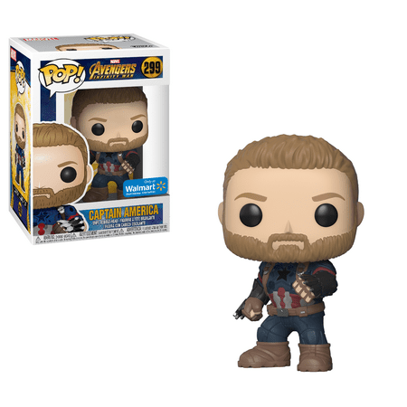Funko POP! Marvel: Avengers Infinity War - Captain America Walmart Exclusive for $<!---->
