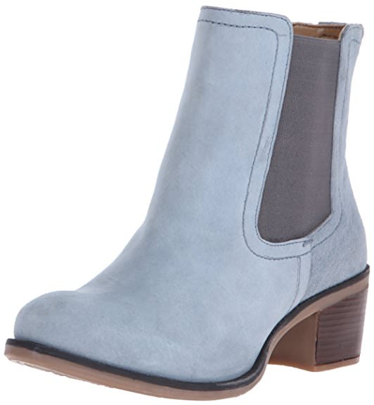 Hush Puppies LANDA NELLIE Womens Blue Suede Chelsea Boots by Hush Puppies