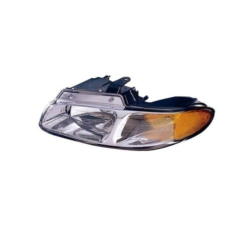 Go-Parts » 2000 Chrysler Voyager Front Headlight Headlamp Assembly Front Housing / Lens / Cover - Left (Driver) Side 4857853AA CH2502134 Replacement For Chrysler Voyager