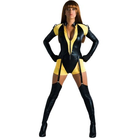 Morris Costumes Watchmen Silk Spectre Small 6-8 Adult Halloween Costume (Silk Spectre Costumes)