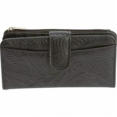 Casual Outfitters Solid Genuine Leather Ladies Wallet