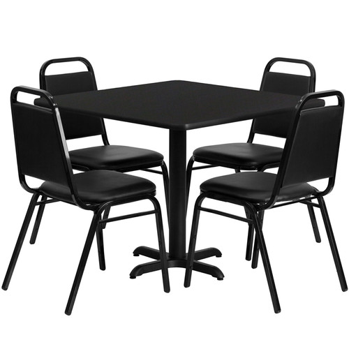 Flash Furniture 5 Piece Dining Set