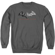 Arkham City Logo Mens Crewneck Sweatshirt