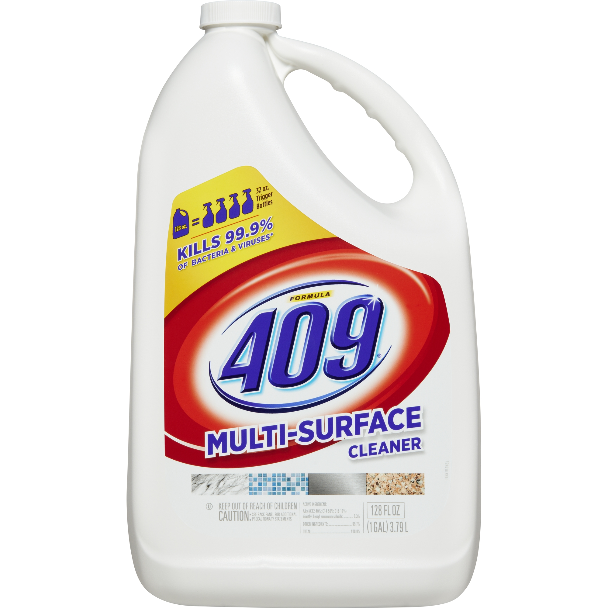 Formula 409 Multi-Surface Cleaner, Refill Bottle, 128 oz