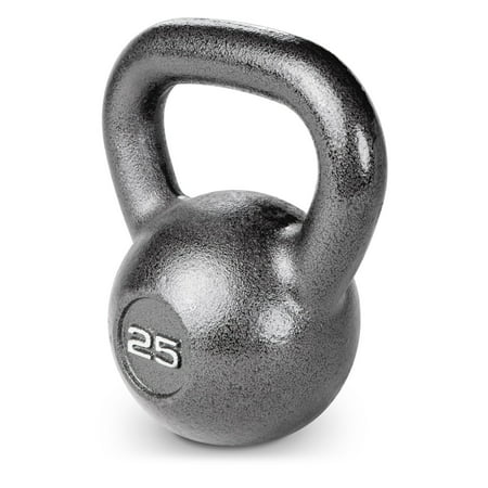 25 lb Cast Iron Kettle Bell: HKB-025 - Sold Individually ()
