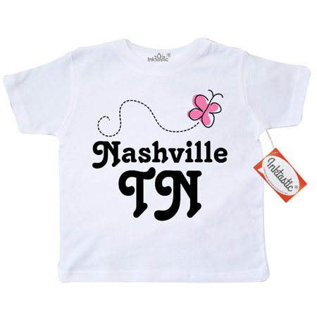 Inktastic Nashville Toddler T-Shirt Tennessee Cute Hometown Home State Pride Tn
