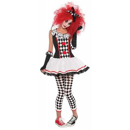 Harlequin Honey Adult Costume - (Harlequin Commedia Dell'arte Costume)