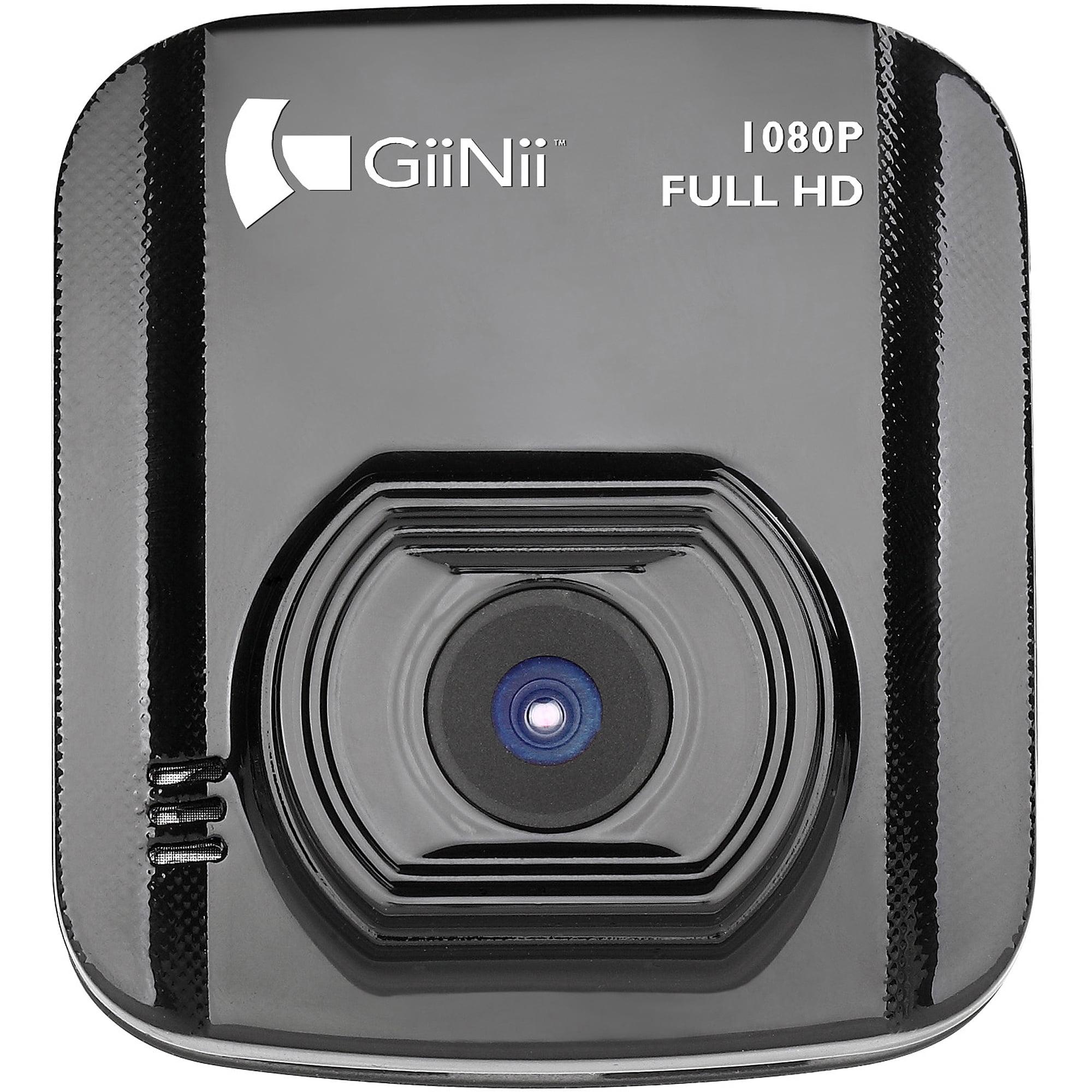 GiiNii GD-250 1080P DashCamVideo Camera with 2.0-Inch LED Backlit (Black)