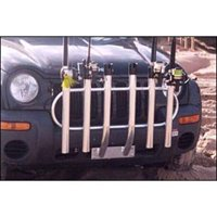 Fish-N-Mate 6-Holder Rod Rack Bumper Mount, 051