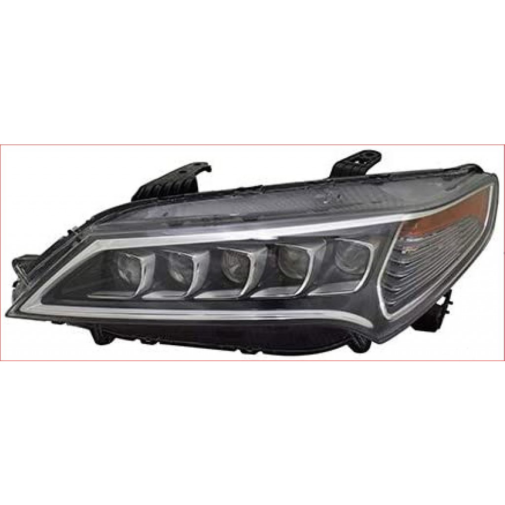 For Acura TLX Headlight 2015 2016 2017 Driver Side LED