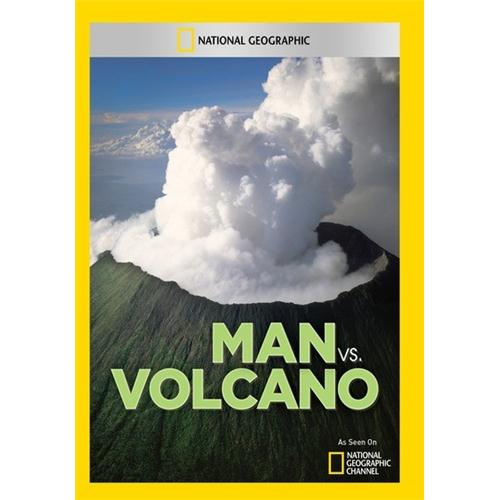 Man vs. Volcano DVD by National Geographic