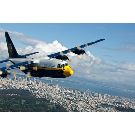 LAMINATED POSTER Navy Blue Angels Airplane Fat Albert Poster Print 24 x