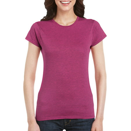Gildan Softstyle Women's Short Sleeve Fitted T-Shirt Foundation Fitted T-shirt