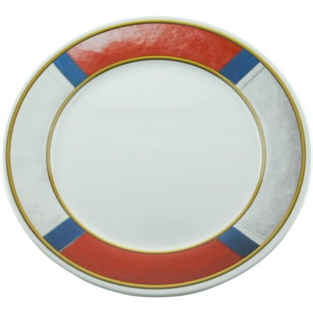 Galleyware Company Decorated 10\'\' Melamine Non-skid Dinner Plate ...