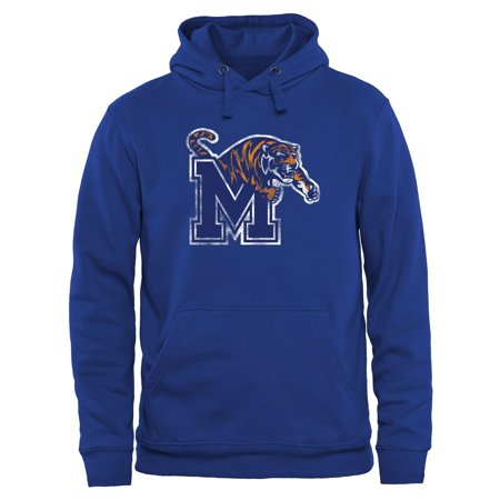Memphis Tigers Classic Primary Pullover Hoodie - Royal Blue