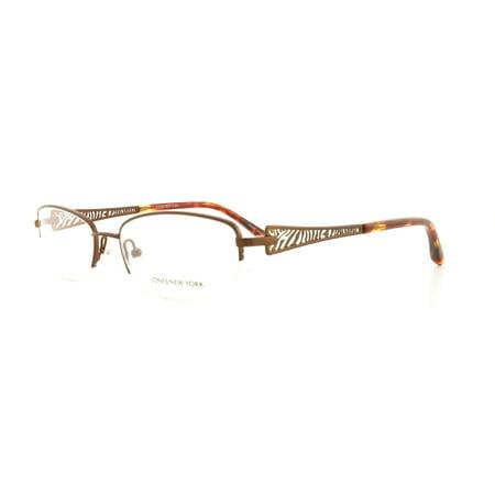 JONES NEW YORK Eyeglasses J460 Matte Brown 52MM