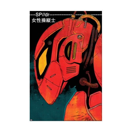 Edge of Spider-Verse No. 5 Cover Print Wall Art By Jake Wyatt