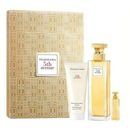($69 Value) Elizabeth Arden Fifth Avenue Perfume Gift Set For Women 3Pc