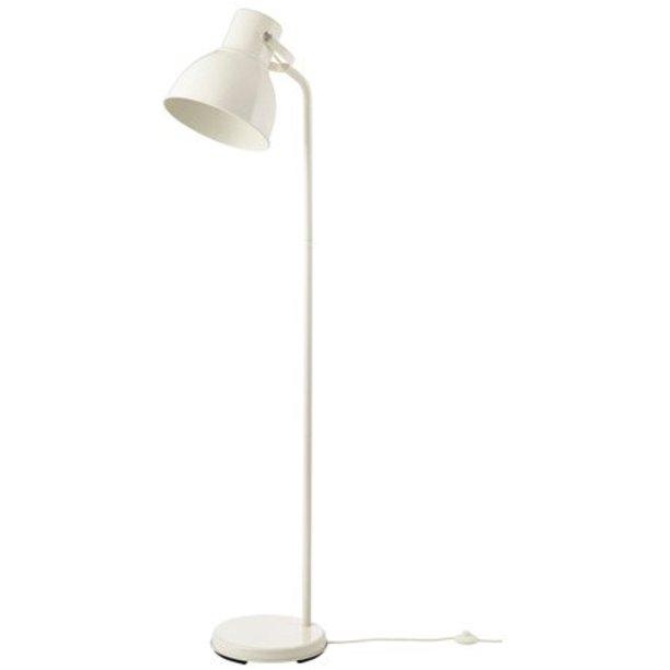 Ikea Floor Lamp With Led Bulb White, Floor Lamp With Shelves Ikea