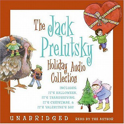 The Jack Prelutsky Holiday Audio Collection - Audiobook - Jack Prelutsky Poems Halloween
