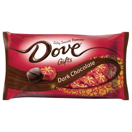 Christmas Candies.Dove Christmas Holiday Gifts Silky Smooth Promises Dark Chocolate Candy 8 87 Oz