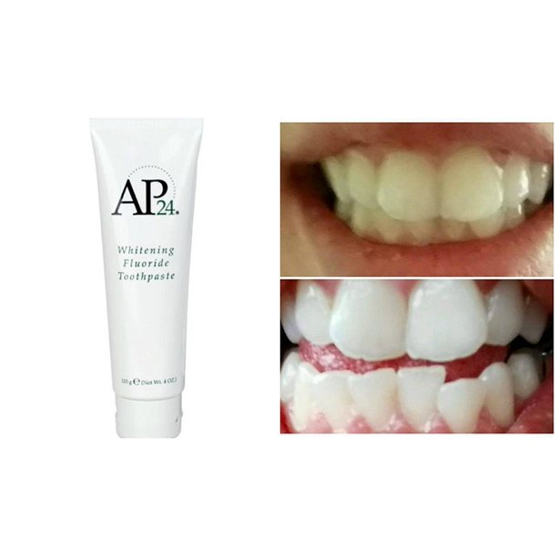 Nuskin Ap 24 Whitening Fluoride Toothpaste Walmart Com Walmart Com