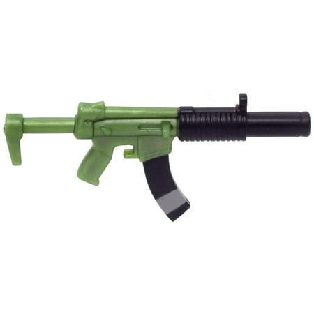Fortnite Submachine Gun Figure Accessory [Green] [No Packaging]](Army Toy Guns)