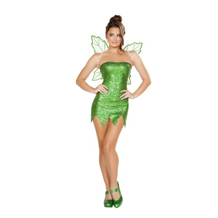 2pc mischievous fairy costume - Plus Size Green Fairy Costume