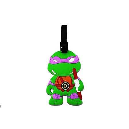 Ninja Turtles Named After (GOODYEZZ Teenage Mutant Ninja Turtles Luggage Tag Baggage Tags Id Name Card Suitcase Travel Tag -)