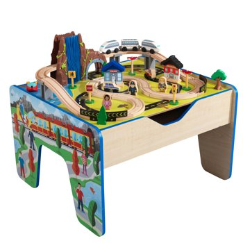 KidKraft Train Set 48 pcs and Wooden Table