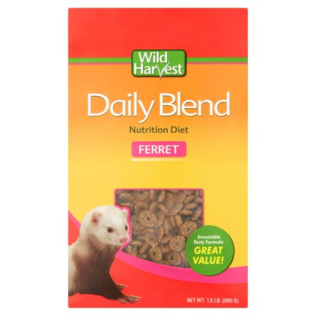 Wild Ferret Food (Wild Harvest Daily Blend Ferret Nutrition Diet, 1.75-Pounds )